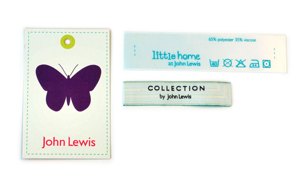 John Lewis Labels