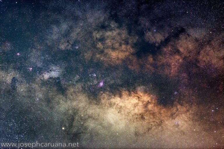 Core of the Milky Way from Dwejra
