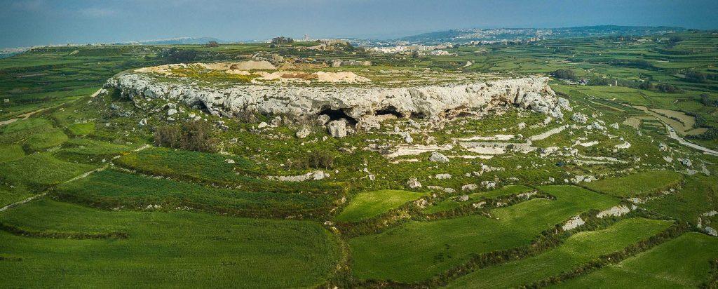 The caves of Ghajn Abdul