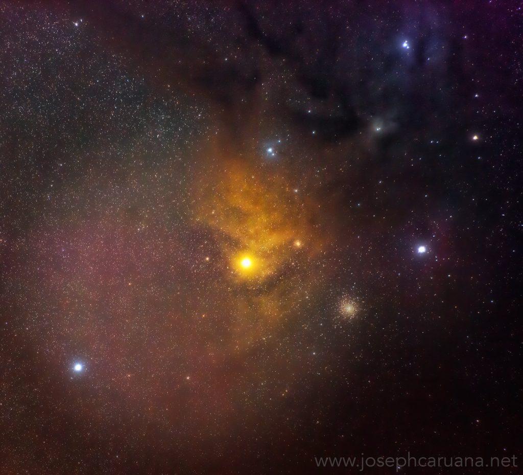 Antares imaged from Dwejra