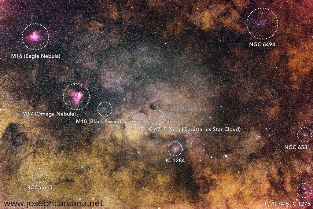 Various Nebulae from Dwejra