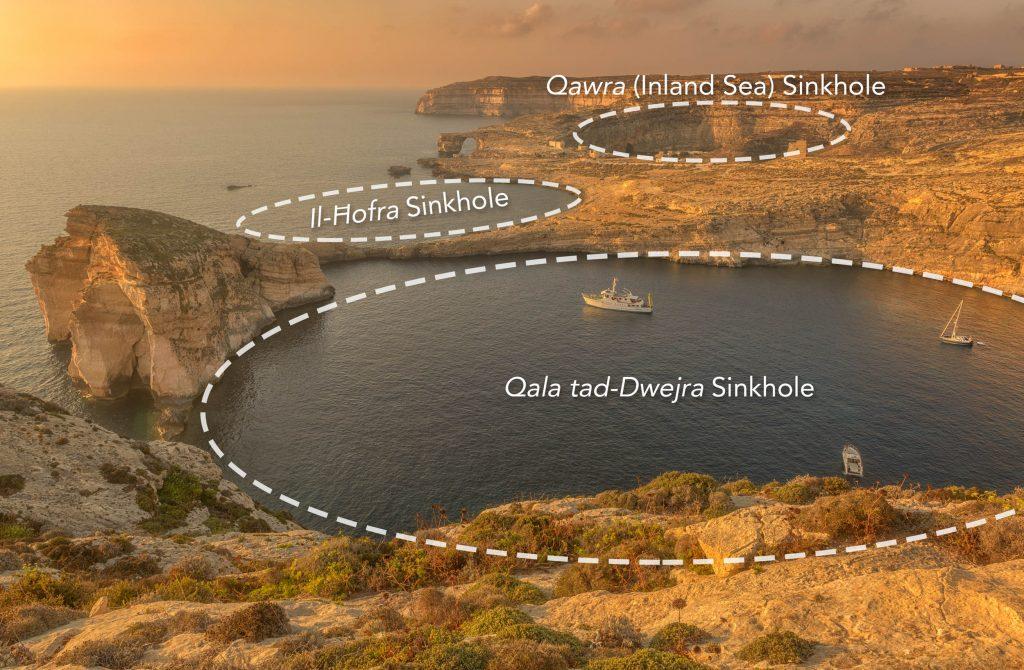 Dwejra Sinkholes