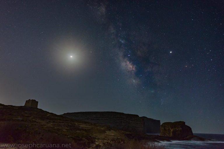 Lunar Eclipse at Dwejra