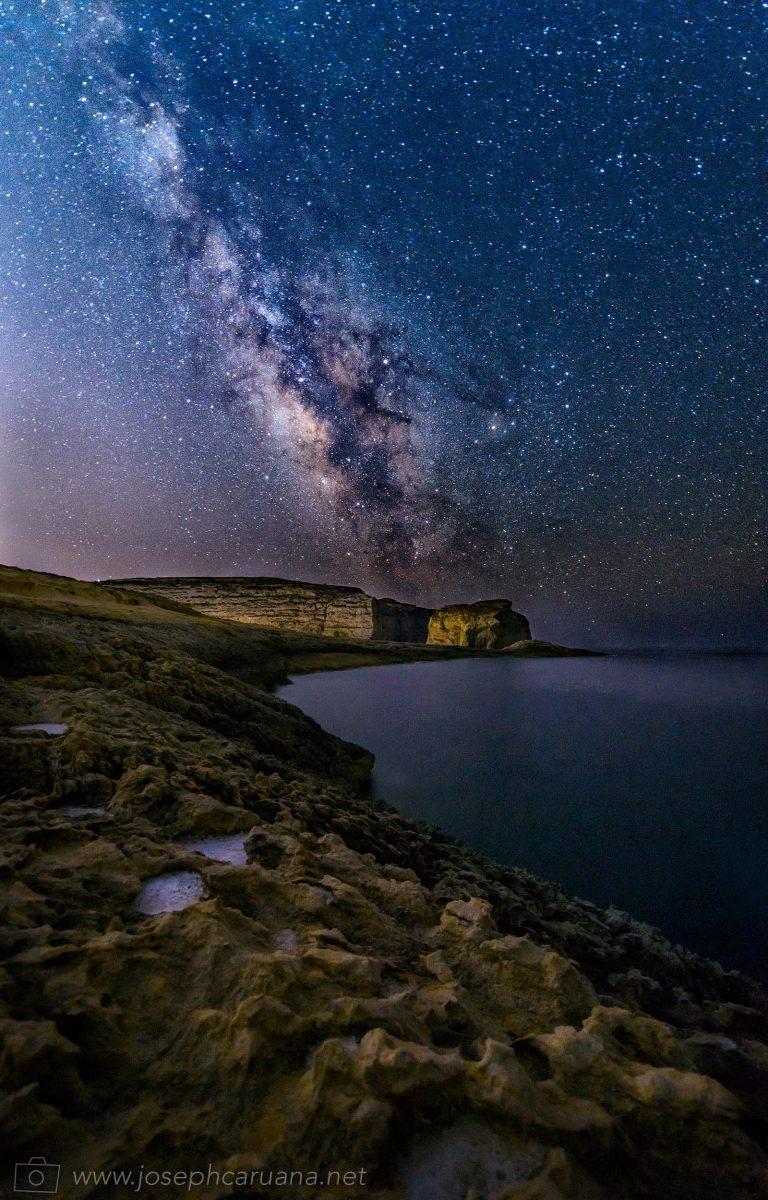 Majestic Milky Way at Dwejra