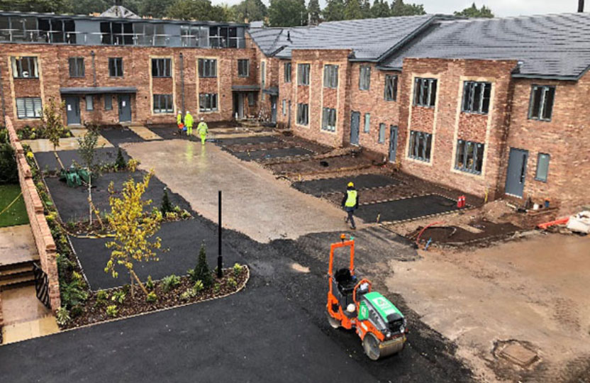 residential groundworks manchester