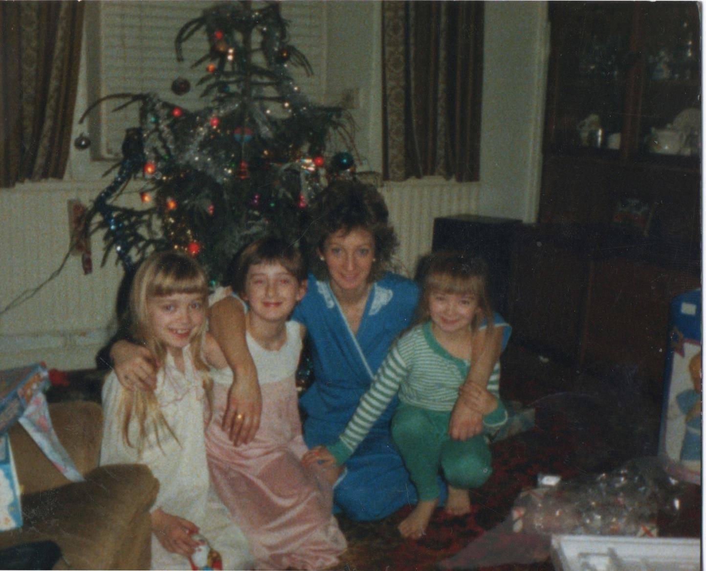 Our teacher. 1983. Just us girls
