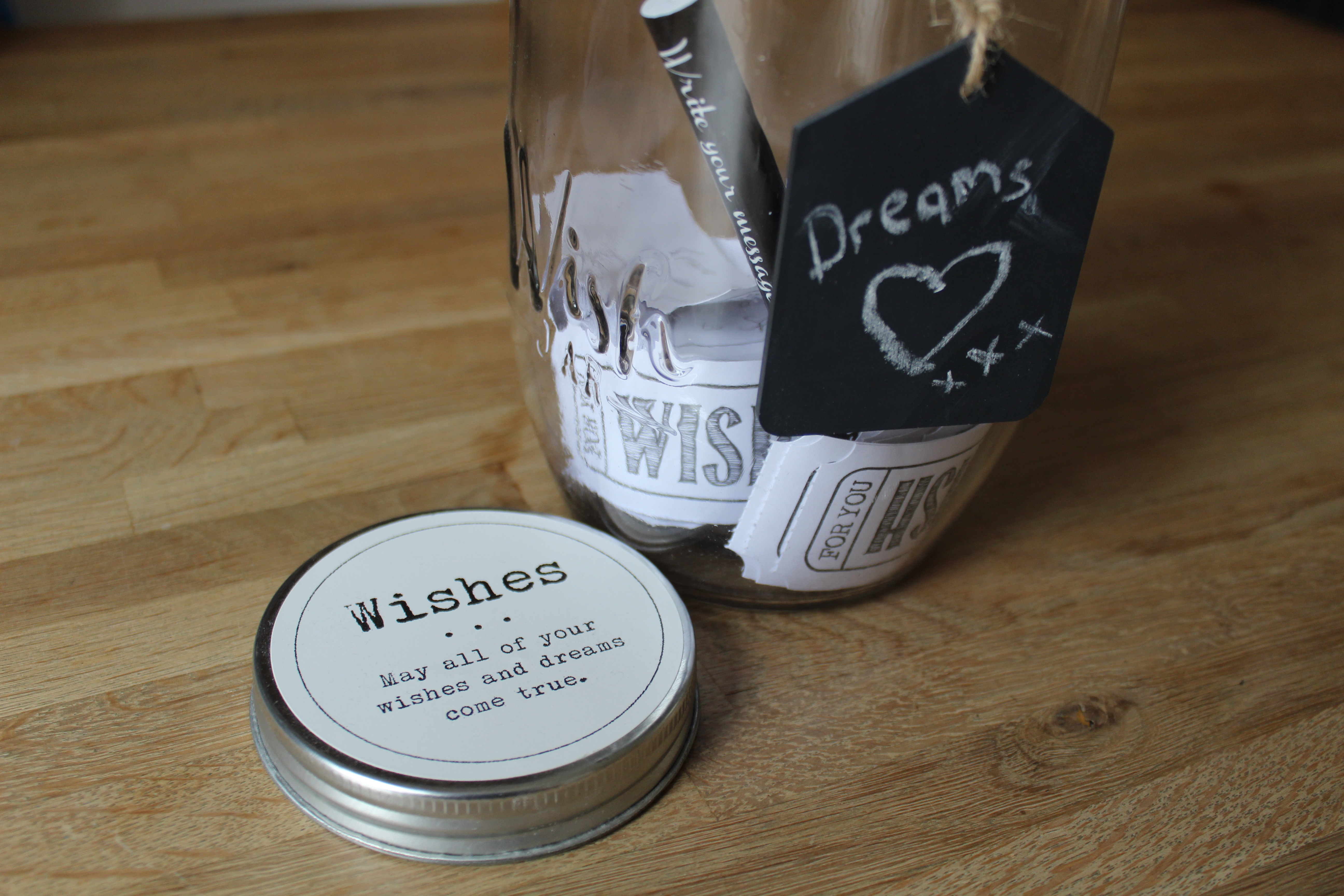 Our jar of dreams and wishes
