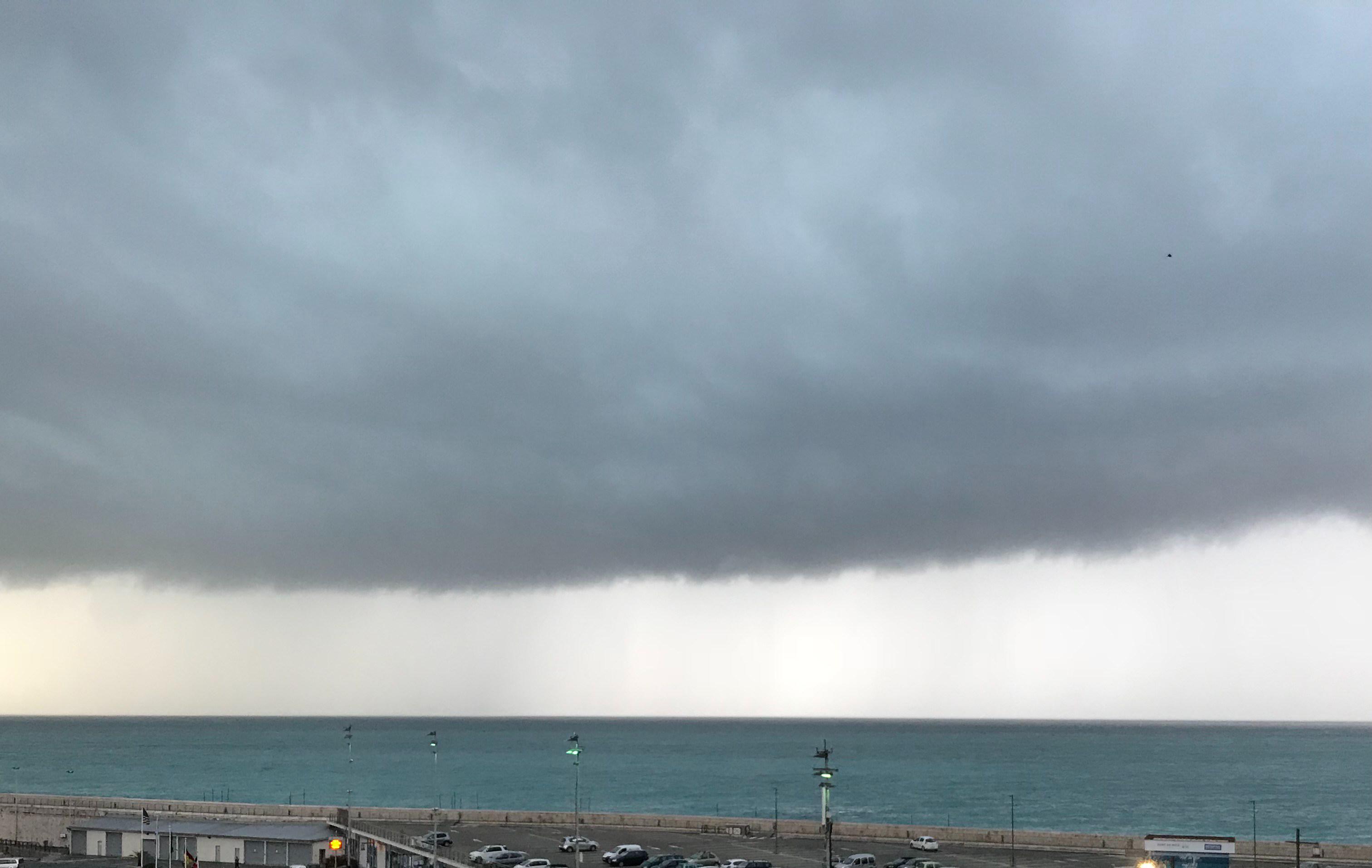 Storm nice port