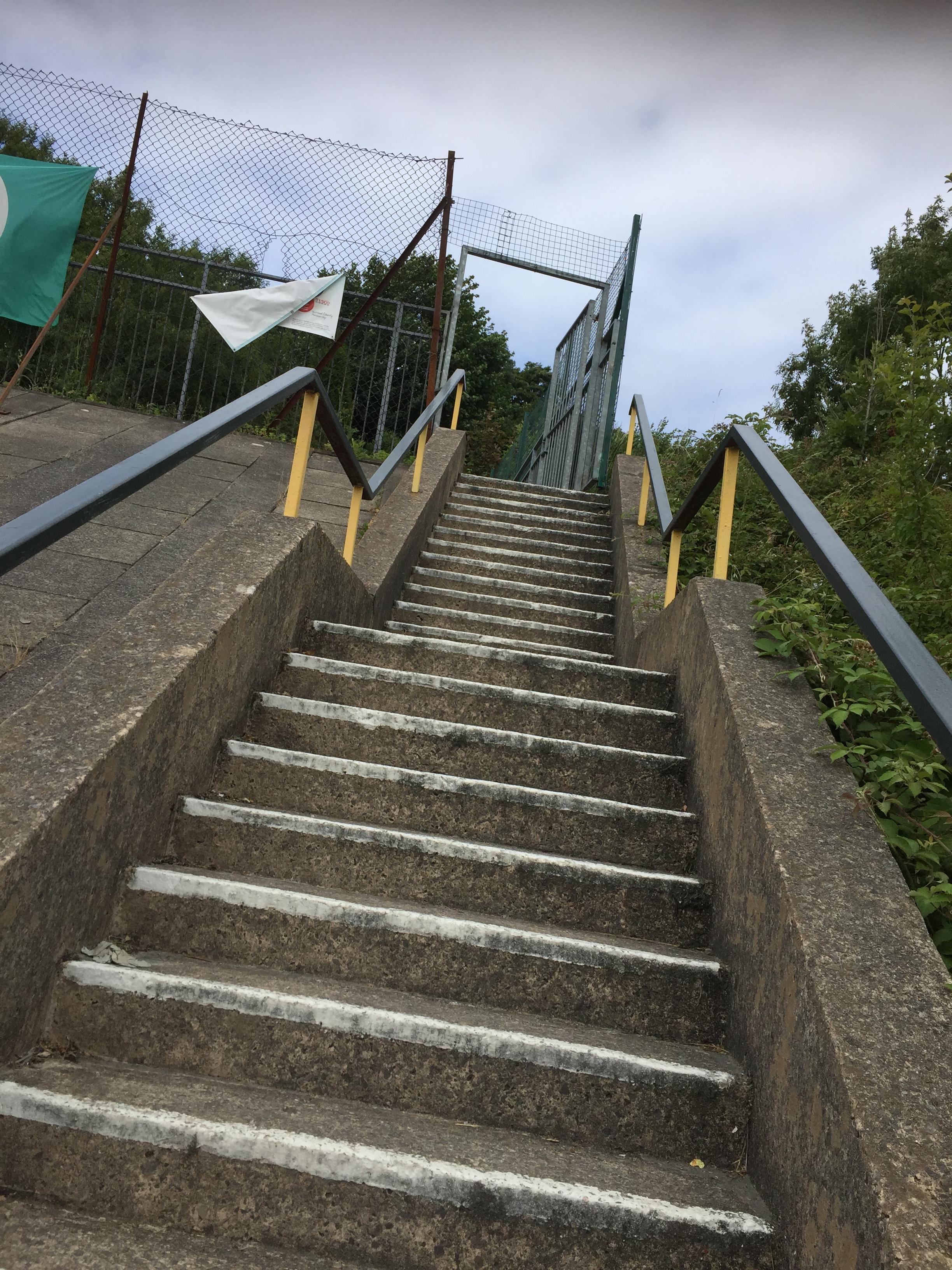 School steps