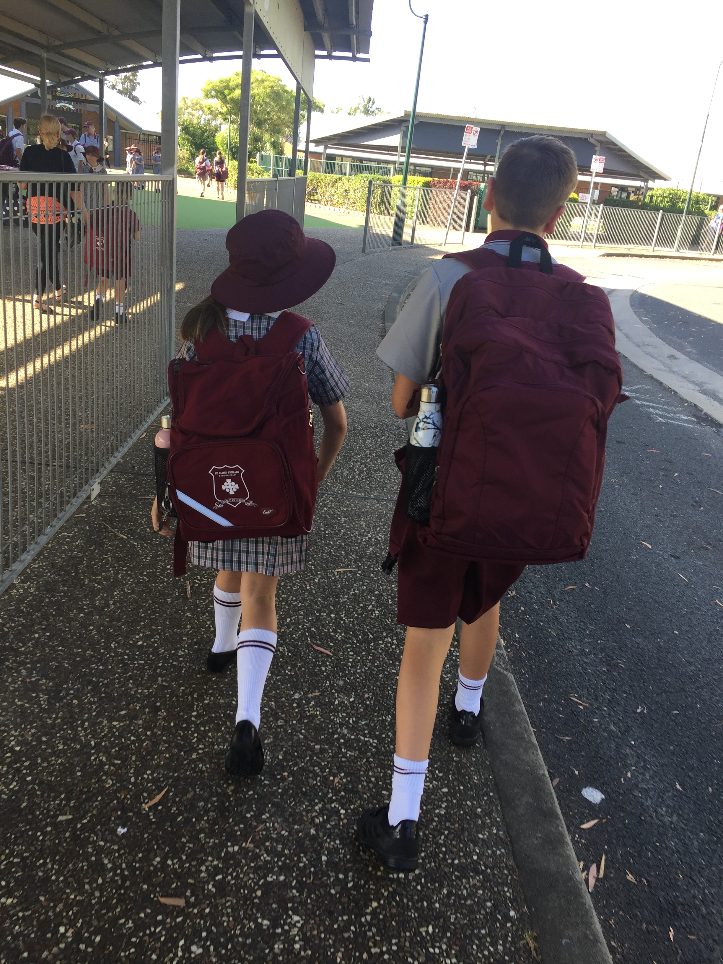 First day of School, Australia