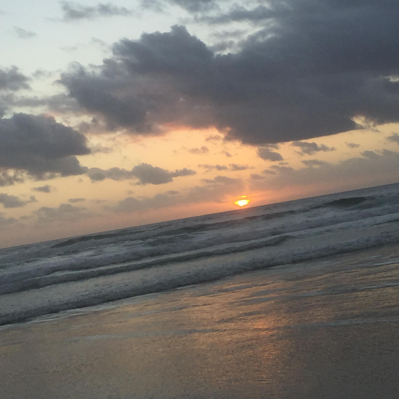 New Years day sunrise 2019 casuarina beach Australia
